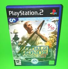 Medal of Honor Rising PS2 Playstation 2 Sony Video Game FAST POST War WW2 EA