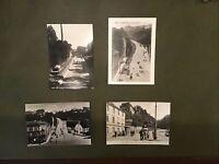 AK Zeitz, Wendischer Berg mit Drahtseilbahn, Repro vom Fotolabor R. Kreil, Zeitz