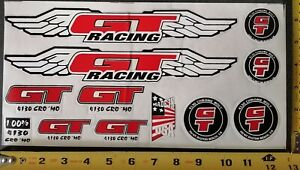 GT BMX OLD SCHOOL  STICKER  SET  VINTAGE DIE-CUT DECAL --FREE SHIPPING--