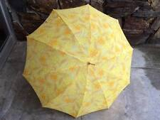 Vintage umbrella citrus orange and lemon design