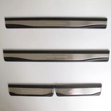 Stainless Steel Door Sill plate Guards Protector  For Honda Accord 2018