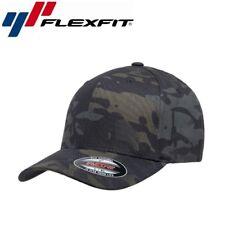 Flexfit Classic Multicam Baseball Cap L/XL Camouflage Schwarz