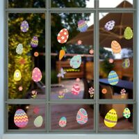 Removable Easter Bunny Egg Wall Decals Window Sticker Wall Sticker Wall Decor
