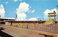 Dallas Texas 1950s Postcard Shamrock Motel