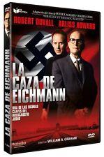 THE MAN WHO CAPTURED EICHMANN (1996)  **Dvd R2** Robert Duvall, Arliss Howard