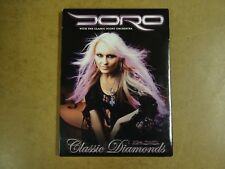 MUSIC DVD / DORO - WITH THE CLASSIC NIGHT ORCHESTRA - CLASSIC DIAMONDS - THE DVD