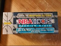 2019-20 Panini NBA Hoops Premium Stock Factory Sealed Set w/Pulsar Pack Zion