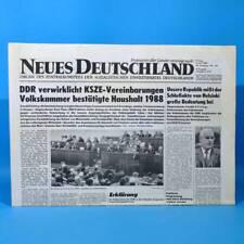 DDR Neues Deutschland 09.06.1989 Juni Zum Geburtstag Hochzeitstag 29. 30. 31. 32