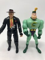 Robocop The Series 'Pudface' 'Commander Cash' Vintage Action Figures 1994
