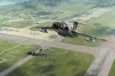"Gloster Javelin Aviation Painting Art Print - 60 Squadron - 14"" Print"