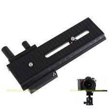 10cm Macro Shot Focusing Focus Rail Slider for Canon Nikon Sony DSLR Camera