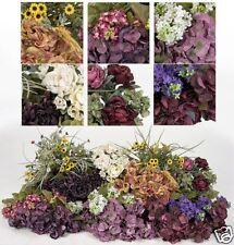 Silk flowers bulk ebay bulk artificial silk flowers hydrangea lilac rose sale mightylinksfo