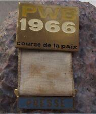 1966 Course de la Paix Peace Race WBP Cycling Cycle Tour Press ID Pin Badge