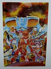 Original 1992 Youngblood 22x14 Image Comics cover promo poster 1:Rob Liefeld art