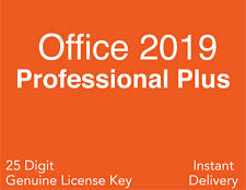 Microsoft Office 2019 Professional Plus License Key