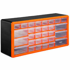 30 Drawer Parts Storage Organiser Cabinet Others by VonHaus
