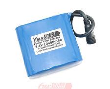 SANYO Li-ion 18650 7.4V 10400mAh Protected Battery for MagicShine bike Light US