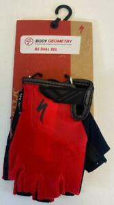 new Specialized Body Geometry BG DUAL GEL mens GLOVES multiple sizes RED