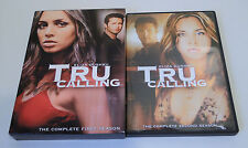 Tru Calling The Complete First and Second Seasons on DVD - EXCELLENT!