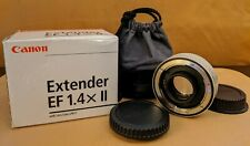 Canon Extender EF 1.4x II with Lens Case LP811