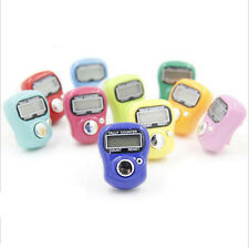 1* New 5 Digit LCD Electronic Digital Golf Finger Hand Held Ring Tally Counter