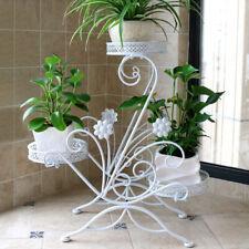 50cm Plant Stand Flower Pot Holder Indoor Plant Stand Flower Pot Holder for Home Decor Golden Teakpeak 2 Tier Plant Pot Stand