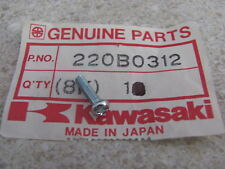 NOS OEM Kawasaki Pan Head Screw 3X12 1969-79 KZ650 750 1000 Mach III 220B0312