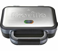 BREVILLE VST041 Deep Fill Sandwich Toaster - Graphite & Stainless Steel - Currys