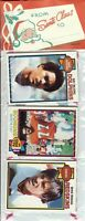 1979 Topps Football Holiday Christmas Rack Pack HOF Newsome Shell Campbell RC?C2