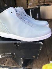 JORDAN INSTIGATOR BASKETBALL SHOES GREY MIST/ WHITE MENS 11.5