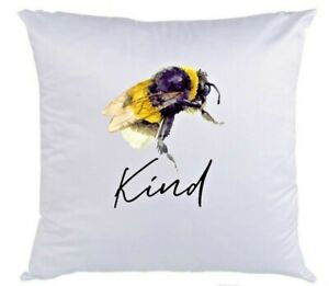 Bee Kind Cushion Cover (can be Personalised)