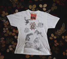 NARUTO 9 BIJUU X UNIQLO UT Men's T Shirts   M=S(US,EURO) DEAD STOCK Super Rare