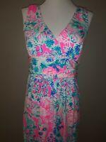 Lilly Pulitzer Short Sloane Dress Tiki Pink  Gypsea Pink Size Medium