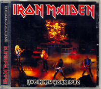 "IRON MAIDEN  ""Live In New York 1982 (Soundboard) (RARE CD)"