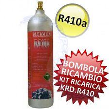 3S BOMBOLA di RICAMBIO per KIT RICARICA FAI DATE R410A R410 CLIMATIZZATORE NUOVA