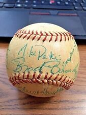 MYSTERY 1988 SIGNED SIGNED AUTOGRAPHED ML BASEBALL! Minor Leagues?