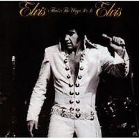 "ELVIS PRESLEY ""THAT'S THE WAY IT IS"" CD NEW+"