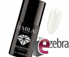Semilac Nagellack UV LED Gel Nail 001 Strong White 7ml