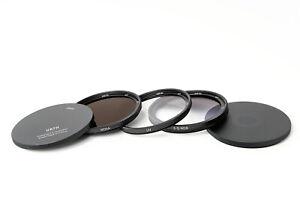 Urth/Gobe 49mm Filter Kit Landscape (UV, ND64, ND8 S Grad), Exc+ Fuji Sony, m4/3