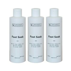 Nature's Response Foot Soak 250ml Multipack (x3) | Soothes & Softens