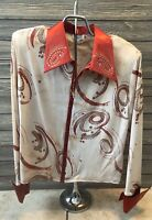 Hobby Horse womens plus 2x Western Pleasure WP Bling Show jacket shirt racing