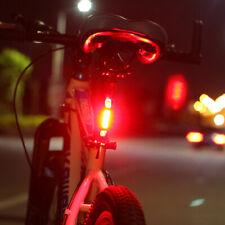 Luz 5 LED Bicicleta Señalización con Reflectante Batería Interna Waterproof R