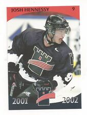 2001-02 Quebec Remparts (AHL) Josh Hennessy (Providence Bruins)