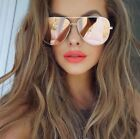 GOLD ROSE Pink Mirror Reflective Lens Women Sunglasses Shadz AVIATOR