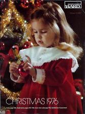 1976 WARDS MONTGOMERY WARD '76 CHRISTMAS CATALOG w/ Orig Sleeve
