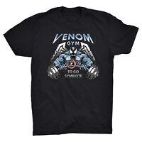 Venom Gym T Shirt Go To Symbiote Spiderman Marvel Comics Deadpool Batman