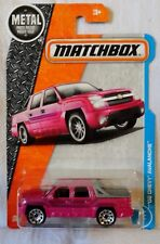 "2017 Matchbox ""Metal Parts"" '02 Chevy Avalanche, Ships World Wide"