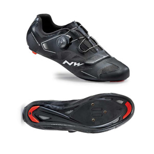 Northwave Sonic 2 Plus Road Cycling Bike Shoes Black 42 EU