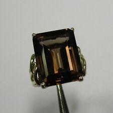 Attraktiver Ring aus Gelbgold 333 mit Rauchquarz - 549-2808/246