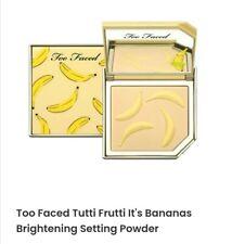 TOO FACED Tutti Frutti Its Bananas Setting Powder - banana cream - new